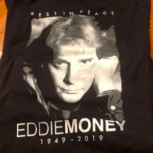 Eddie Money Band Tee Shirt
